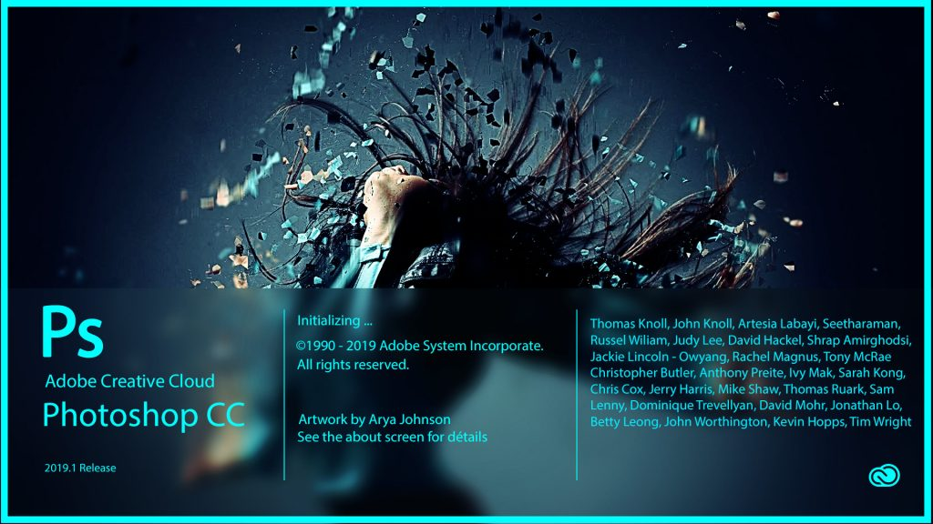 Adobe Photoshop CC 2019 v20.0 Windows破解工具